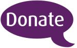 Donate speech balloon