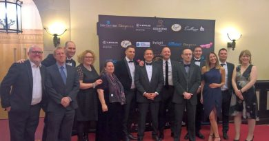 Volunteers at the Curry Awards