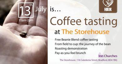 Coffee tasting on 13th July 2019