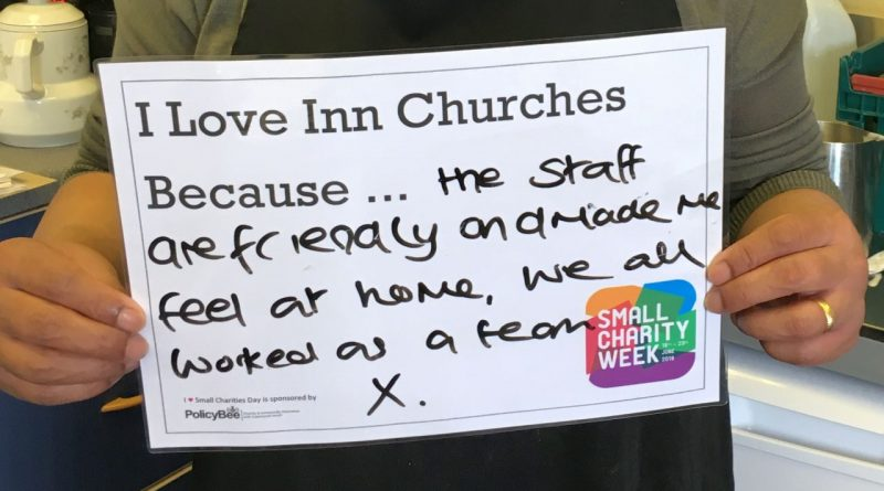 I love Inn Churches because the staff are friendly and made me feel at home, we all worked as a team