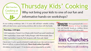 Thursday Kids' Cooking Classes