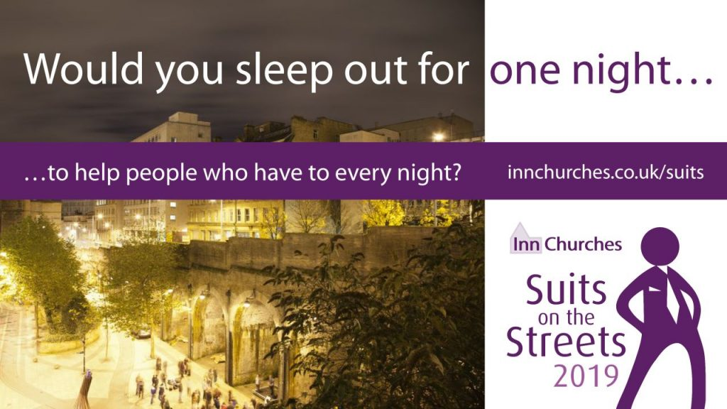 Would you sleep out for one night?