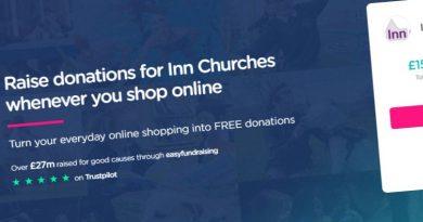 Easyfundraising screenshot