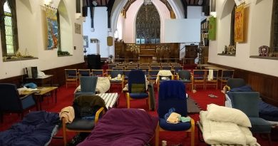 Winter Shelter at St Philip's Girlington
