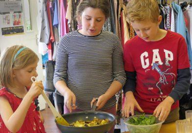 Summer kids' cooking workshops