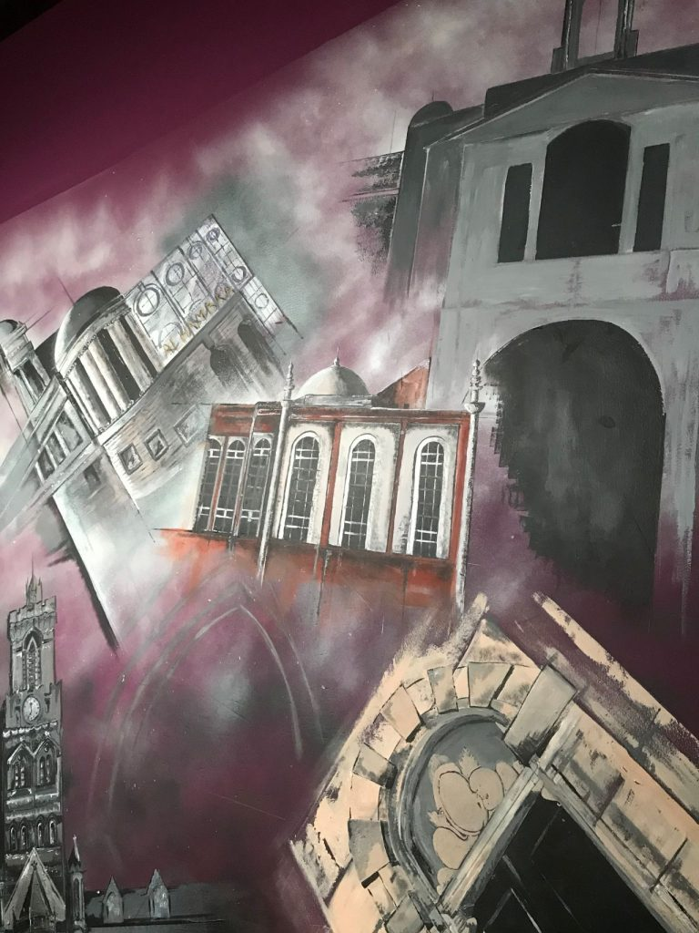 Mural at Shaw House