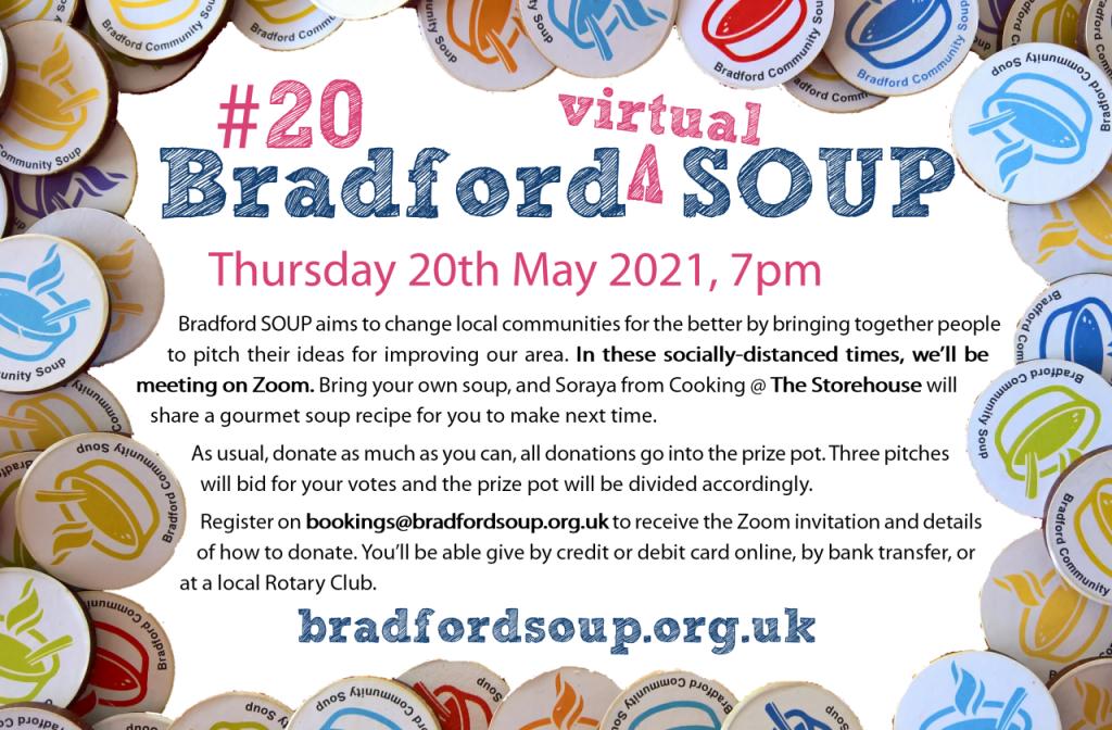Bradford SOUP #20 flier