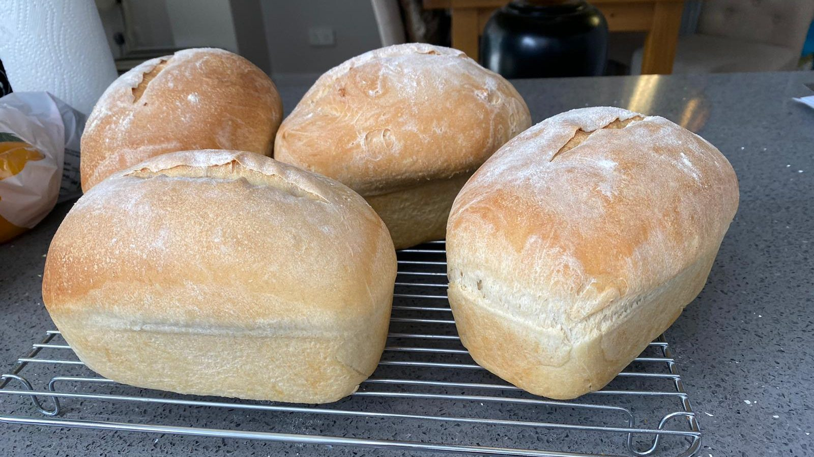 "15p ""end of the day"" loaves of bread"