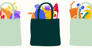 Shopping bags graphic