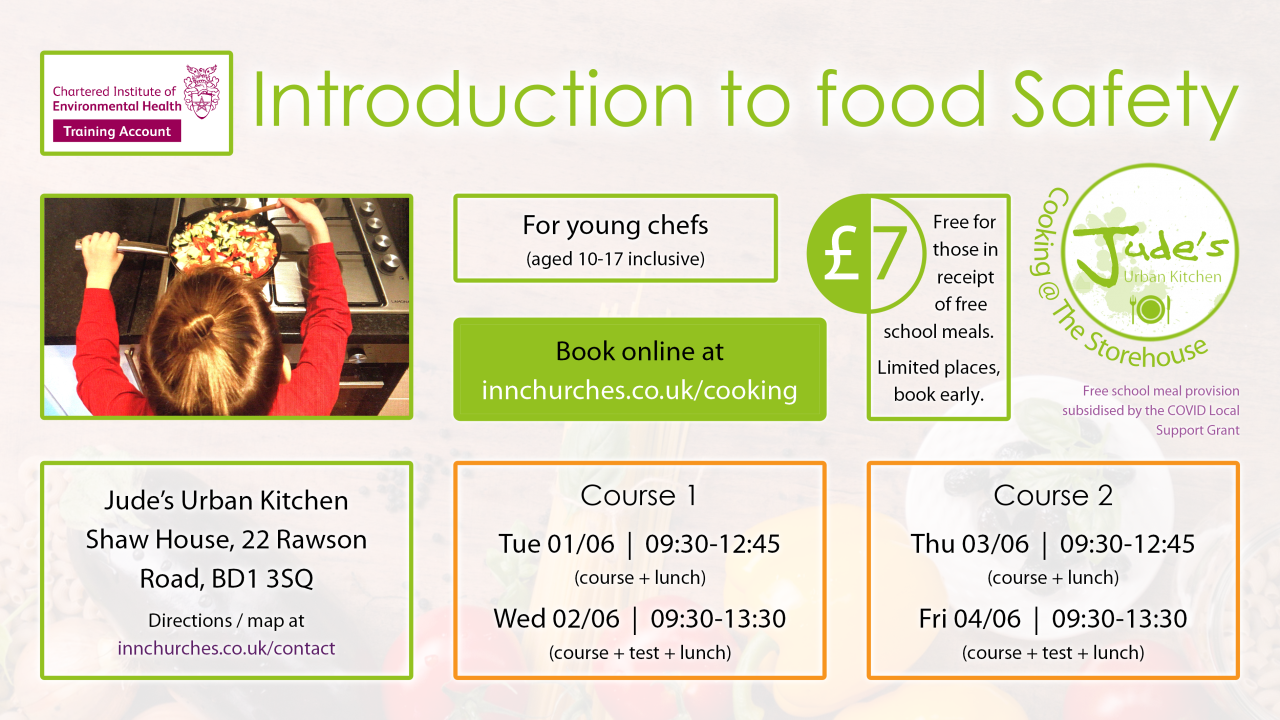 Poster for introduction to food safety - Jun21